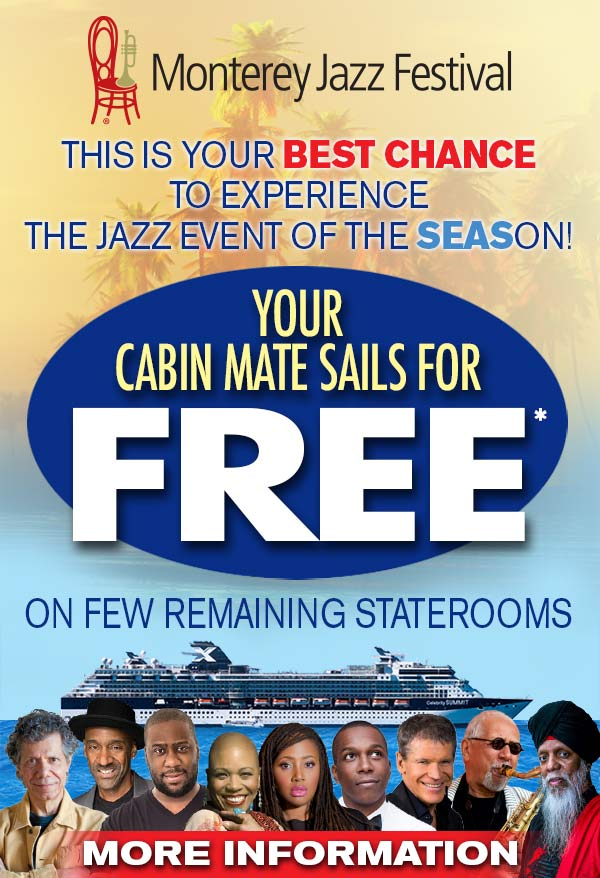 Special Offer for Monterey Jazz Festival
